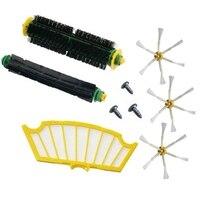 9PCS Zubehör Pinsel für Irobot Roomba 500 Serie 510 530 532 535 540 555 560 562 570 572 580 581 590 Staubsauger Teile|Staubsauger-Teile|   -