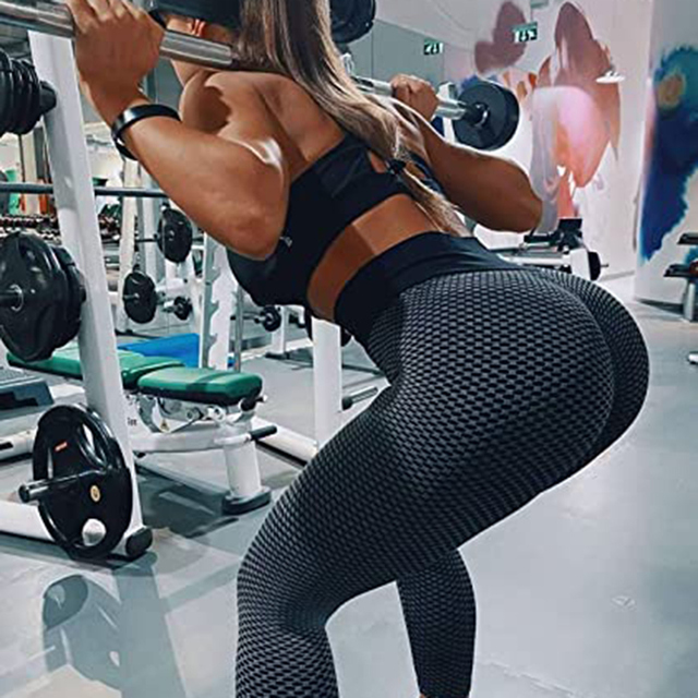 Mesh Sexy Yoga Pants Women High Waist Push Up Seamless Sport Leggings Gym Anti-Cellulite Tights Quick Dry Running Fitness Pants 3