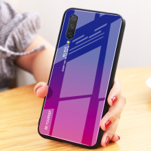 YUNAO phone case For Xiaomi series Gradient painting Mirror xiaomi Pocophone F1 9 CC9 8 Mix3..