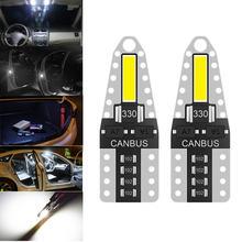 2 шт 168 194 Светодиодная лампа w5w t10 для салона автомобиля