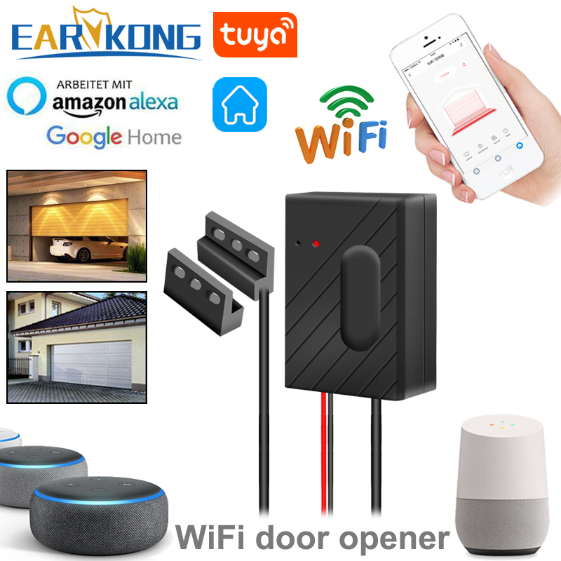 Door-Opener Wifi Garage Smart-Gate Alexa Controllor Google Home with Echo Google/Home/Smart-life/..