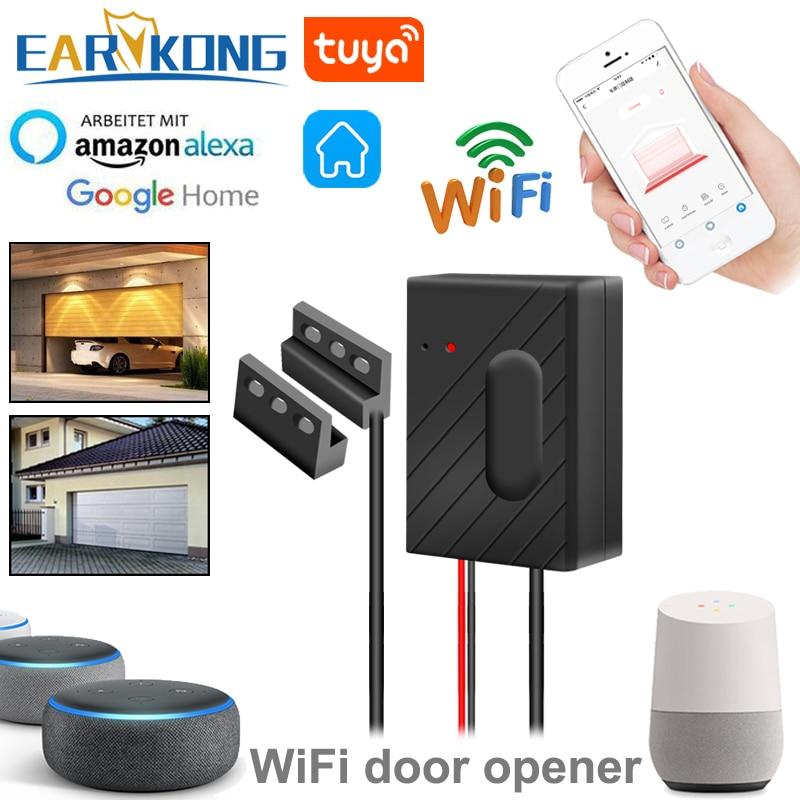 Устройство для открывания гаражных ворот, совместимое с Alexa Echo Google Home Smart Life Tuyasmart IOS Android APP