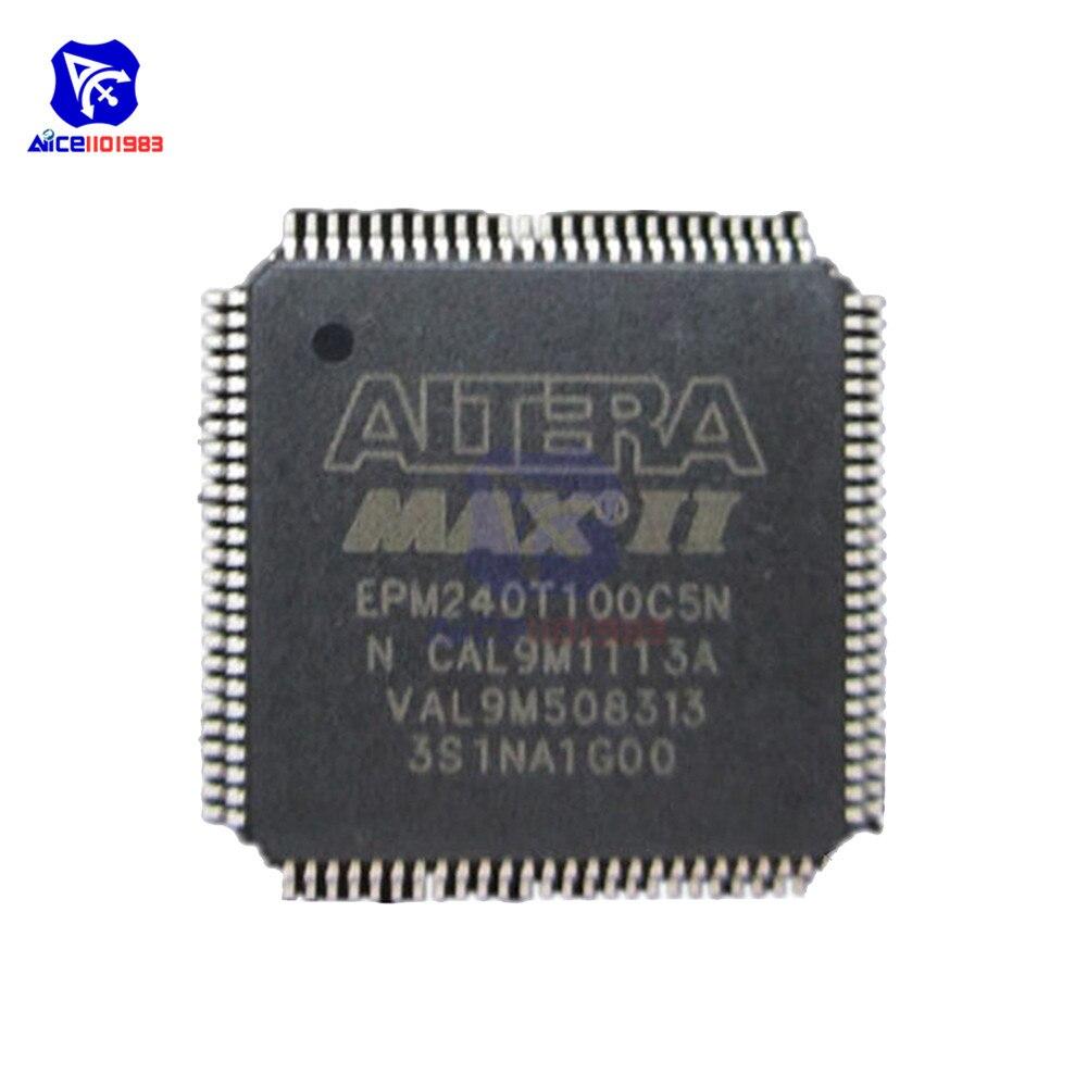 Микросхемы diymore IC EPM240T100C5N EPM240T100C5 EPM240 TQFP100, оригинальная интегральная схема Интегральные схемы      АлиЭкспресс