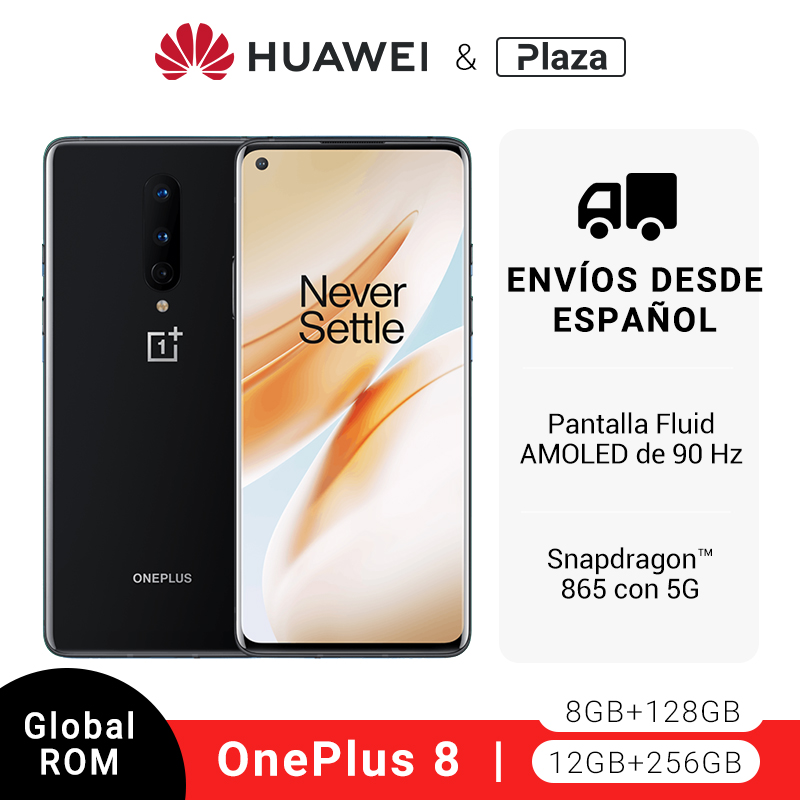 Rom Global OnePlus 8 5G Smartphone Snapdragon 865 Octa Core 6,55