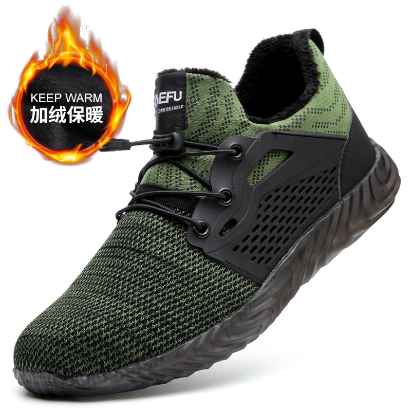 Indestructible Ryder Shoes Men And Women Steel Toe Air Safety Boots Puncture-Proof Work Sneakers Breathable Shoes