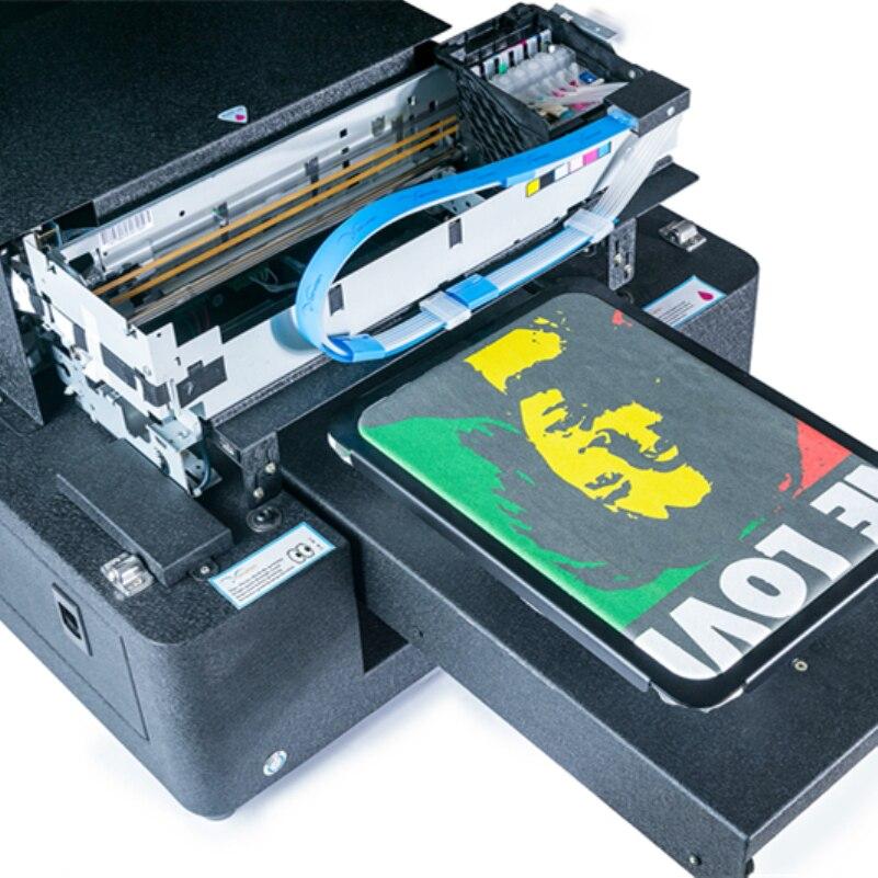 A4 Size Goedkope Direct Naar Kledingstuk Printer Voor T shirt Drukmachine Met Textiel Inkt - 2