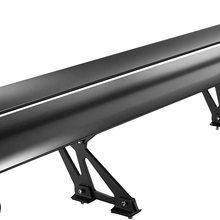 Universal GT Wing Spoiler 135CM Lightweight Aluminum Rear Spoiler Wing Adjustable Angel Double Row Racing Trunk Spoiler BGW Drif