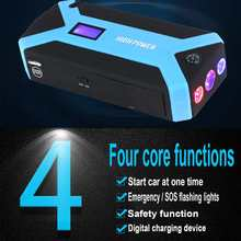 Charger Power-Bank Jump-Starter 69800mah-Car Portable Auto-Battery-Booster Starting-Device