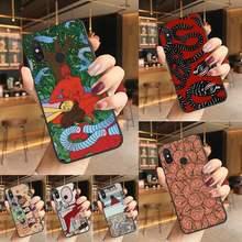 Polly nem pintura arte suave preto carcasa de teléfono caso para Redmi K20 Nota 5 7 7a 6 8 Pro Nota 8T 9 Xiaomi Mi 8 9 SE