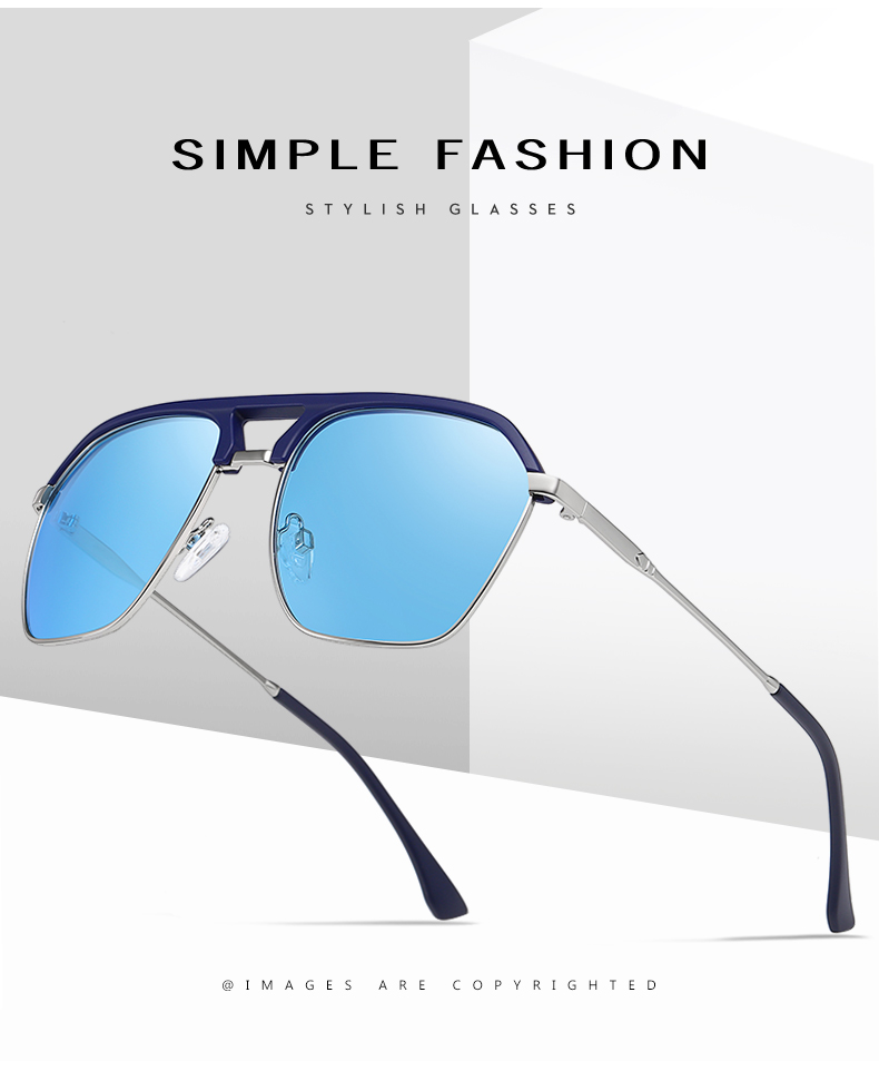 Classic Pilot Polarized Sunglasses Men Coating Mirror Sport Retro Sun Glasses Men Ride Travel Driving Fishing Eyewear Male UV400 (1)