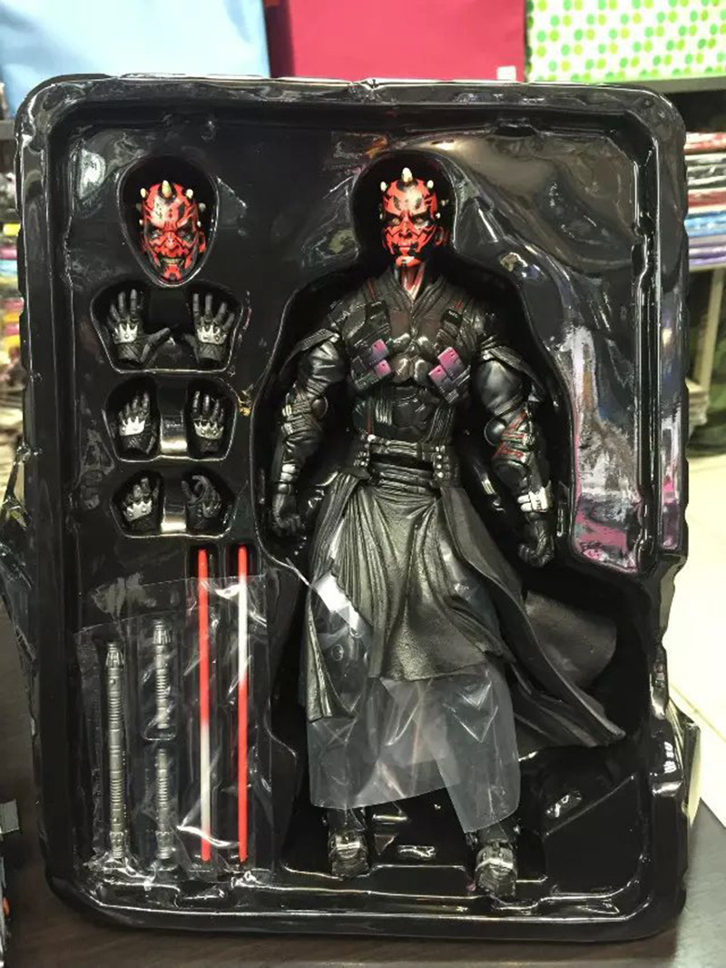 Star Wars: The Force Awakens Darth Maul 26cm Anime Figure Doll Collections Children Toys Gift 11