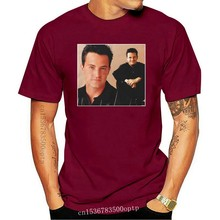 Chandler Bing Friends 90s Vintage Unisex Black Tshirt men t shirt
