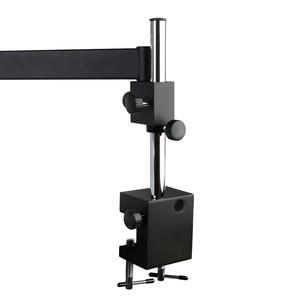 Image 3 - 調節可能な方向咬合アーム柱クランプホルダーブラケット 76 ミリメートル顕微鏡ステレオ三眼顕微鏡用スタンド