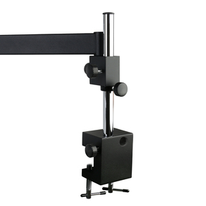Image 3 - Adjustable Direction Articulating Arm Pillar Clamp Holder Bracket 76mm Microscope Stand For Stereo Trinocular Microscope