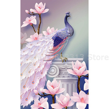 Animal partial Rhinestone Peacocks 5D Diamond DIY Painting Special Daimond accessories Embroider home decor