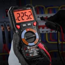 Habertest ht118c profesional ncv multímetro digital 6000 contagens ac dc multitester frequência transistor capacitância tester