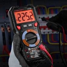 Habotest HT118C Profesional NCV 디지털 멀티 미터 6000 카운트 AC DC 멀티 테스터 주파수 트랜지스터 커패시턴스 테스터