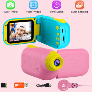 12MP Kids Video Camera Digital DVD Players Children's Camera Girls' Toys Mini DV Camcorder Education Toy Child Christmas Gift