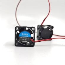 Enfriador 2510 25x25x10mm silencioso 12V 5V 24V USB manga/2 rodamientos de bolas 2,5 CM MINI ventilador de refrigeración para ordenador portátil disipador de calor 25mm 3d ventilador de impresora