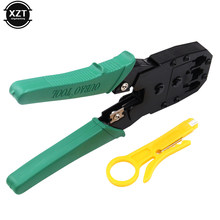 Portable Crimper Cable Cutter Wire Stripper Multifunctional Stripping Tools RJ45 RJ11 Cat5 Cat6 Wire Crimping Pliers Terminal(China)