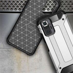 Image 5 - מחוזק עמיד הלם מקרה עבורXiaomi Redmi Note 10S 10 Pro case הערה 10 פרו מוקשח מקרה + זכוכית הערה 10S 10Pro כיסוי שריון מקרה על Redmi Note10 פרו 5G