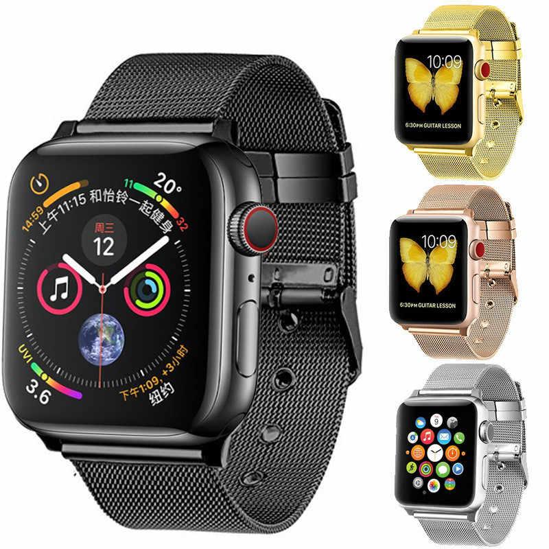 金属 iwatch ストラップ 3 42 ミリメートル milanese ループ apple watch バンド 4 44 ミリメートル 40 ミリメートル 38 ミリメートル iphone watch ブレスレット