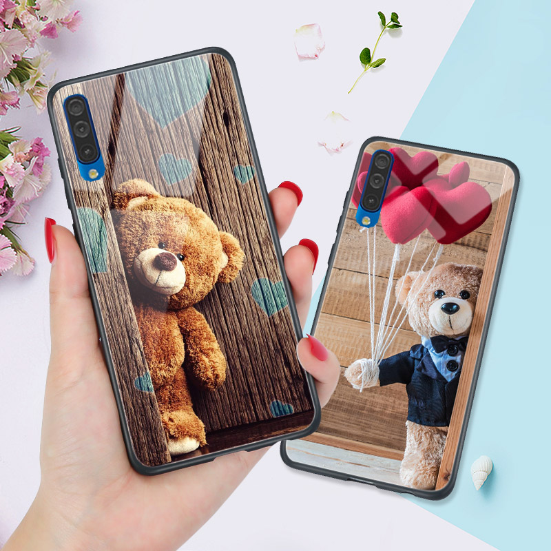 Hard PC Animals Cover FOR <font><b>Samsung</b></font> Galaxy A7 2018 A6 Plus a8 a9 a3 <font><b>a5</b></font> <font><b>2016</b></font> A50 A10 A20 A30 A40 A70 A10S A20S A30S A50S <font><b>Phone</b></font> <font><b>Case</b></font> image