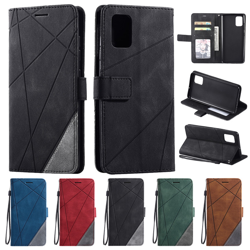 Wallet Flip Leather Case Na For Samsung Galaxy A51 A71 A30S A10S A20S A50S A20E A10 A50 A20 A30 A40 A70 A81 A91 Case Cover