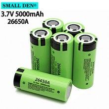 Batterie lithium-ion rechargeable de grande capacité, 26650A 3.7V 5000mAh, 20a, pour outils électriques, lampe de poche, 1-12 pièces