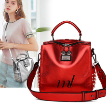 купить Fashion Women Backpacks PU Leather Backpack Shoulder Bag Daypack for Women Female Mochila Feminine Mochila по цене 1621.77 рублей
