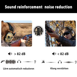 Image 3 - ZOHAN 전자 귀마개 NRR 22DB 전술 사냥 귀 플러그 전자 보호 슈팅 귀 Muffs 전술 귀마개 촬영