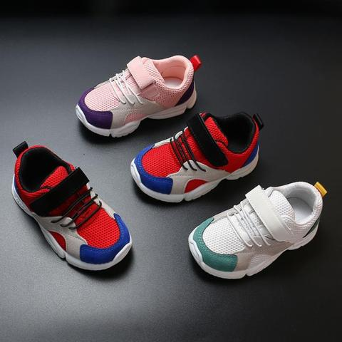 Spring New Children Shoes Fashion Kids Soft Bottom PU Leather Sport Sneakers Baby Autumn Breathable Toddler Shoes boy shoes Karachi
