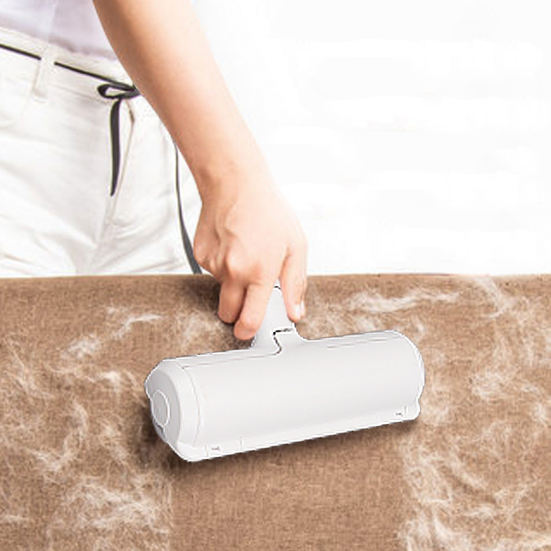 Removing Pet-Hair-Remover-Roller Cat-Hair Lint Dog From-Furniture Self-Cleaning One-Hand-Operate