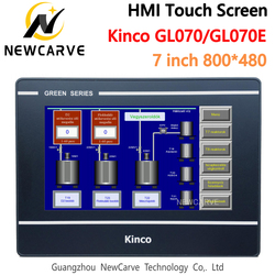 Kinco GL070 GL070E Ethernet hosta ekran dotykowy HMI 7 Cal 800*480 interfejs człowiek-maszyna zastąpić MT4434TE MT4414TE Newcarve