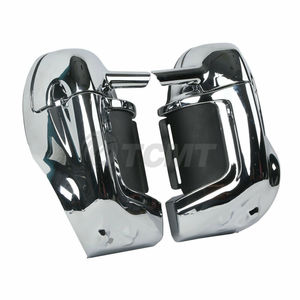 Image 5 - Motorcycle ABS Lower Vented Leg Fairing For Harley Touring Road King Street Glide Road Glide 1983 2013