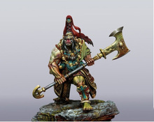 1/24 75mm ancient stand WARRIOR (NO BASE ) 75mm  Resin figure Model kits Miniature gk Unassembly Unpainted