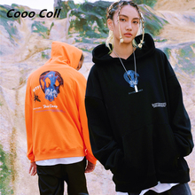 CoooColl 19FW Streetwear Hip Hop Hoody Mens High street Kanye New Fashion Best Quality DEEP SEA CREATURE HOODIE HOODED