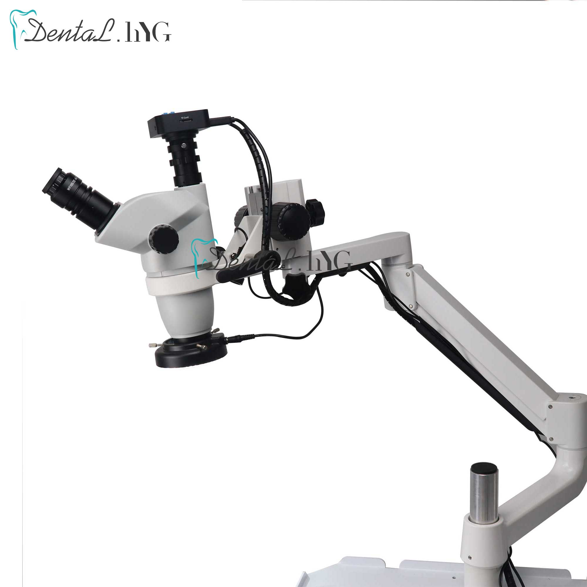 Dental Equipment Microscope With Camera Continuous Zoom For Optional Dental Equipment Chair Unit
