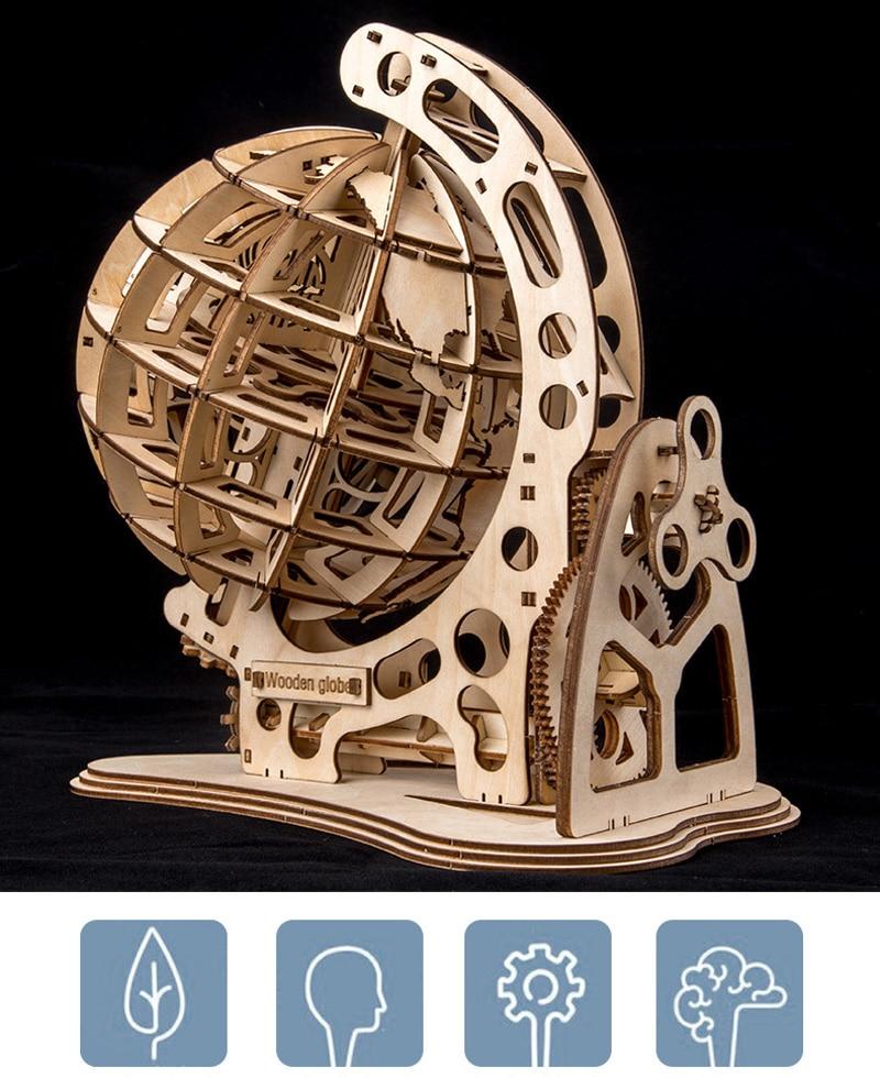 mecânica pêndulo globo diy modelo de transmissão
