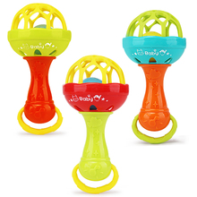 Toy Pacifier Stroller Baby Rattle Mobile-Cot Newborn Bed-Bell Shake-Ball Infant Soft
