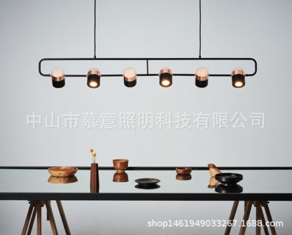 Post-Modern Nordic  Contemporary Pendant Light Living Room Dining Room Dimmable G9 Bulb Hanging Lamps LED
