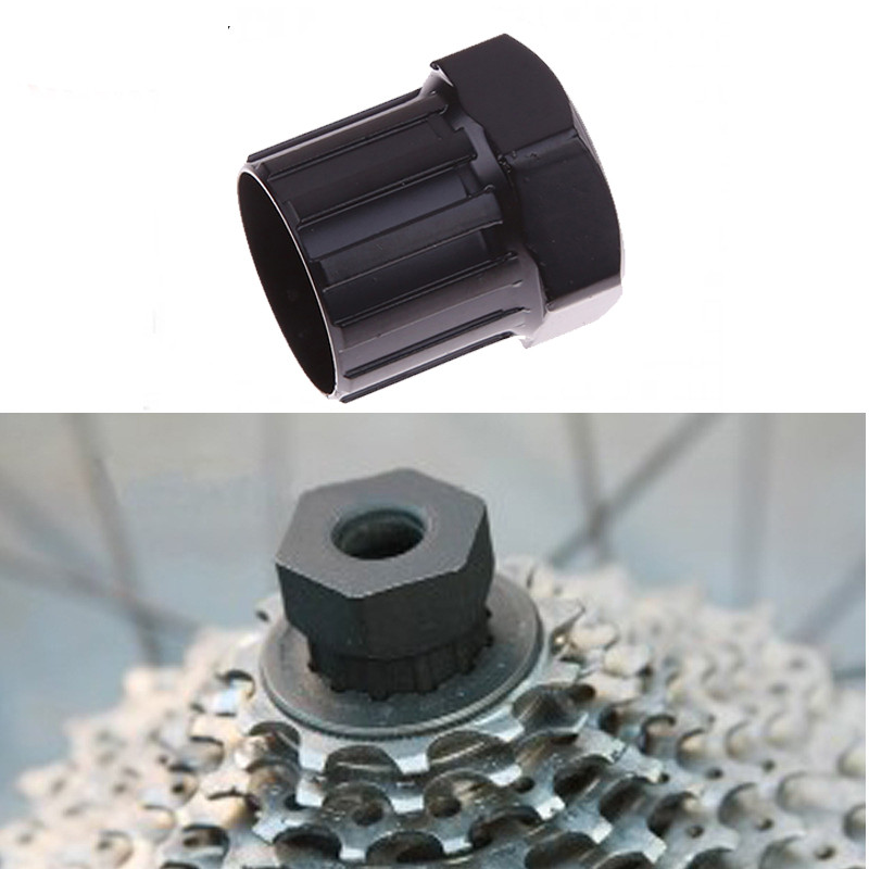 6-pin Screw Shaped Bike Bicycle Cassette Flywheel Freewheel Lockring Remover Removal Repair  12 Teeth Tool