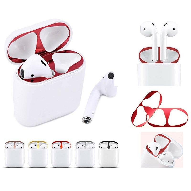 Apple AirPods 2 üçün toz mühafizəsi 1 1 qutu stikeri hava - Portativ audio və video - Fotoqrafiya 1