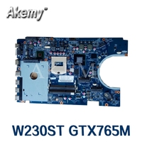 For Hasee W230ST laptop motherboard 6 71 W2300 D03 GTX765M 100% Work