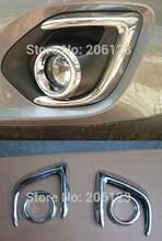 Оптовая цена 2013 для mitsubishi asx abs Хром передний противотуманный