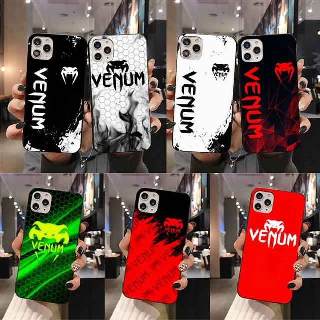 Fighting Fitness VENUM Logo Phone Case For iphone 12 11 Pro Max Mini XS Max 8 7 6 6S Plus X 5S SE 2020 XR cover