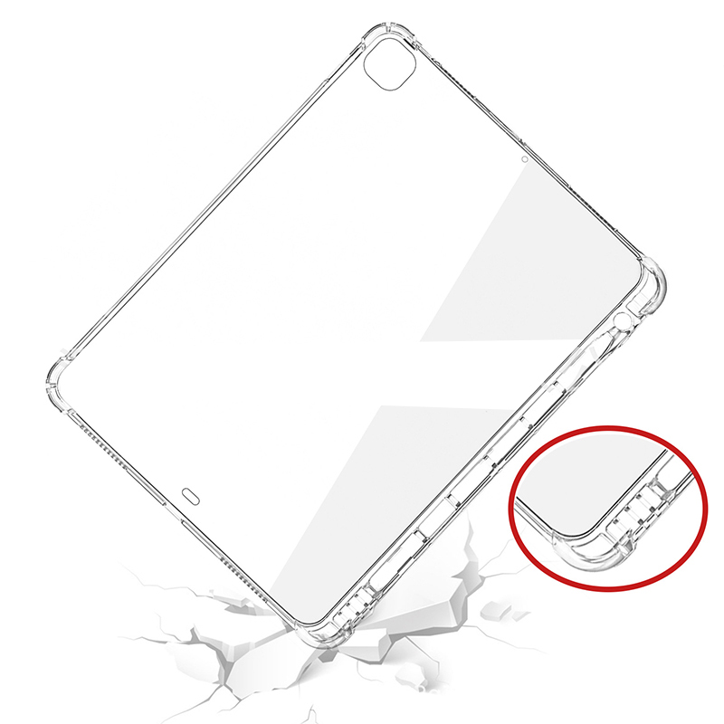 Capa For 2018 Pencil A2379 12.9 2021 iPad 11 Case Holder 2021 Pro For Pro 11 Silicone With A2031 Pro iPad 2020 A2459 12.9 A2461