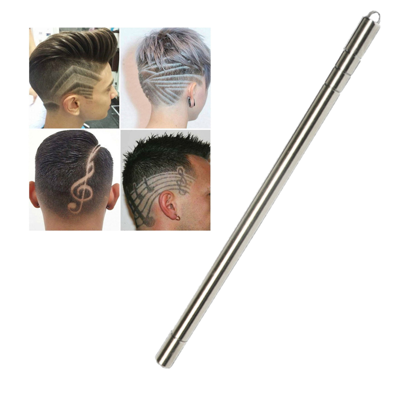 Professional Hairstyle Engraved Pen Blades Hair Styling Hair Trimmers Eyebrows Shaving Salon DIY Hairstyle Fashion Razor Pen
