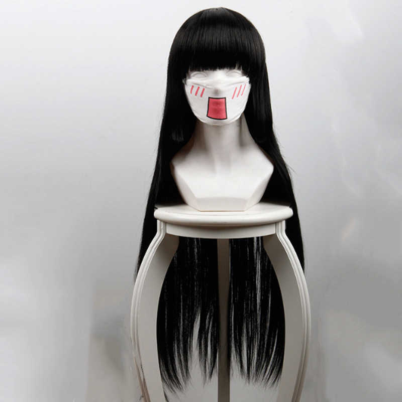 GZIRUE Nagito Komaeda Perruque Cheveux Droite Ondul/ée Cosplay Costume Anime Jeu Halloween F/ête Wigs