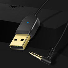 Oppselve Aux Bluetooth adaptörü Dongle kablosu araç telefonu için 3.5mm Jack Aux Bluetooth 5.0 alıcı hoparlör ses müzik verici